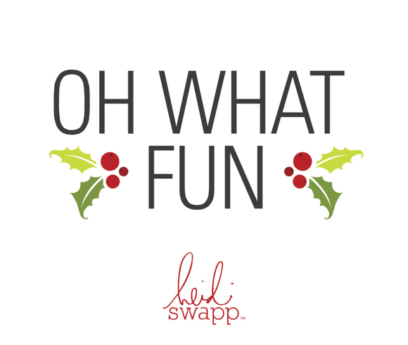 PREORDER Heidi Swapp -Oh What Fun