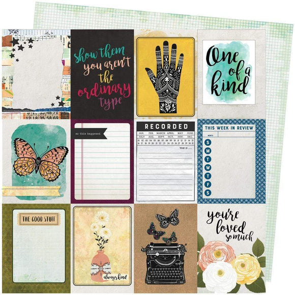 Scrapbooking  Vicki Boutin Storyteller Double-Sided Cardstock 12