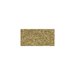 "Scrapbooking  American Crafts Glitter Cardstock 12""X12"" - Gold Plain Cardstock"