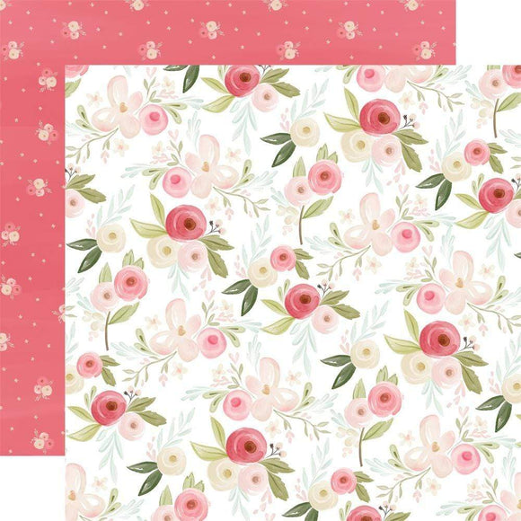 Scrapbooking  Flora No. 3 Double-Sided Cardstock 12
