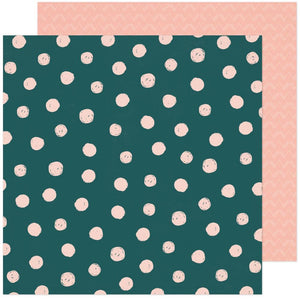 "Scrapbooking  Fresh Bouquet Double-Sided Cardstock Paper 12""X12"" - Fern Paper 12""x12"""