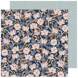 "Scrapbooking  Fresh Bouquet Double-Sided Cardstock Paper 12""X12"" - Flutter Paper 12""x12"""