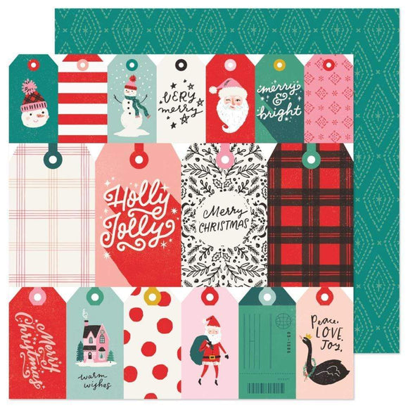 Scrapbooking  Hey, Santa Double-Sided Cardstock 12