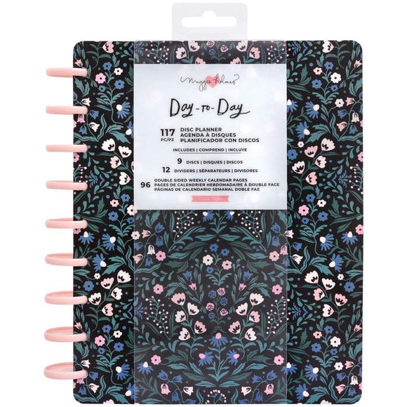 Scrapbooking  Maggie Holmes Day-To-Day Undated 12 Month Planner 7.5