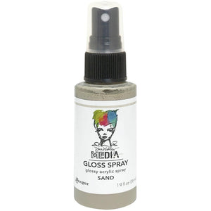 Scrapbooking  Dina Wakley Media Gloss Sprays 1.9oz - Sand Mists and Sprays