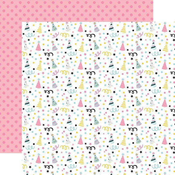 Scrapbooking  Magical Birthday Girl Double-Sided Cardstock 12