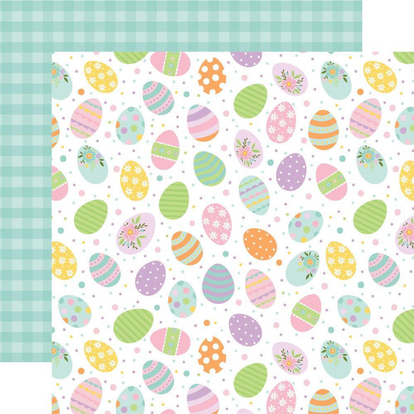 Scrapbooking  Welcome Easter Double-Sided Cardstock 12