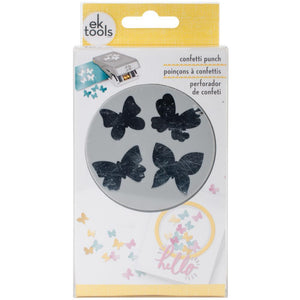 Scrapbooking  Ek Success Large Punch Confetti Butterfly punch