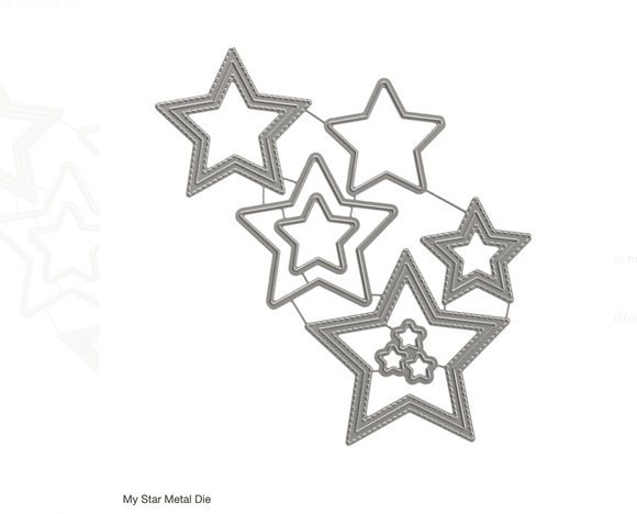 Scrapbooking  Elles Studio - My Star Metal Die kit