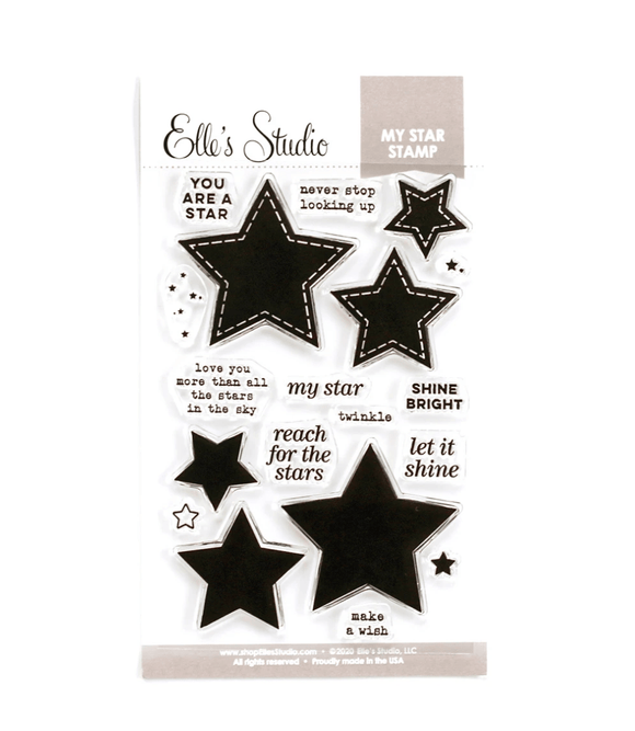 Scrapbooking  Elles Studio - My Star Stamp kit