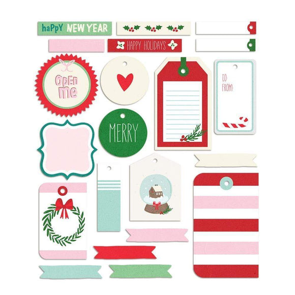 Scrapbooking  Wishmas Tags Pack Embellishments