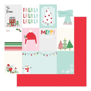 "Scrapbooking  Wishmas Double-Sided Cardstock 12""X12"" - Cut Apart Paper 12""x12"""