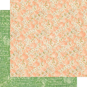 "Scrapbooking  Fairie Wings Double-Sided Cardstock 12""X12 - Tiny Blossoms Paper 12x12"