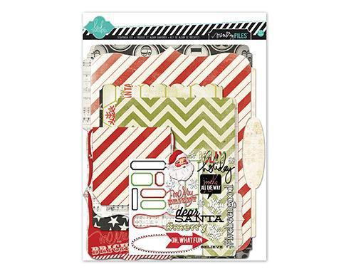 Scrapbooking  Believe Memory Files Kit Heidi Swapp