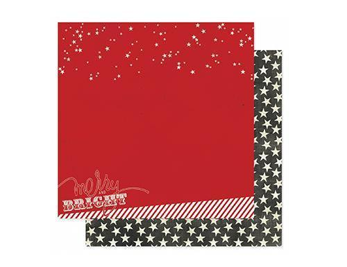 Scrapbooking  Believe Merry and Bright Paper Heidi Swapp