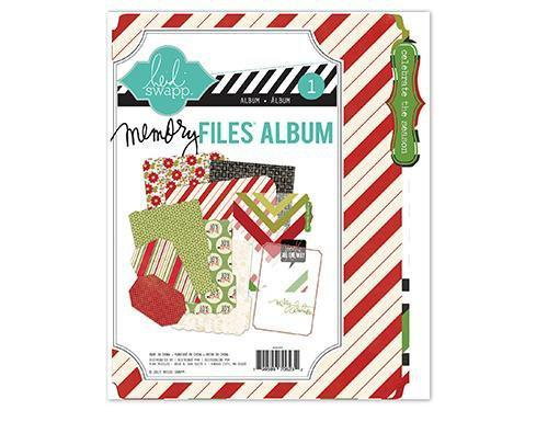 Scrapbooking  Believe Mini Memory Files Album Heidi Swapp