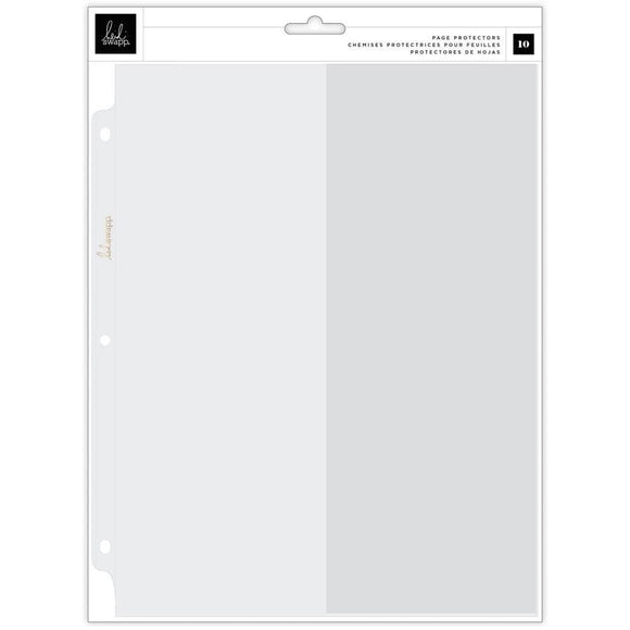 Scrapbooking  Heidi Swapp Storyline Chapters Page Protectors 10/Pkg Panorama Paper 12