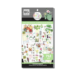 Scrapbooking  Happy Planner Sticker Value Pack Don't Stop Growing Planners