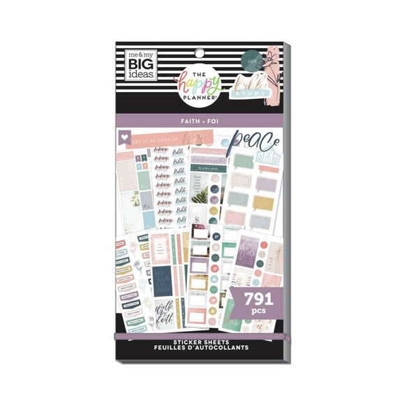 Scrapbooking  Happy Planner Sticker Value Pack It Is Well, 791/Pkg Planners