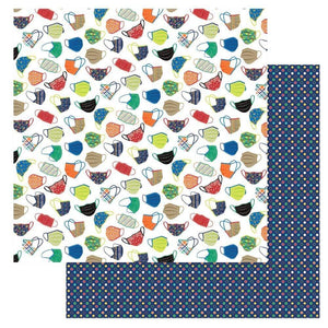 "Scrapbooking  The New Normal Double-Sided Cardstock 12""X12"" - Cover Your Face stickers"