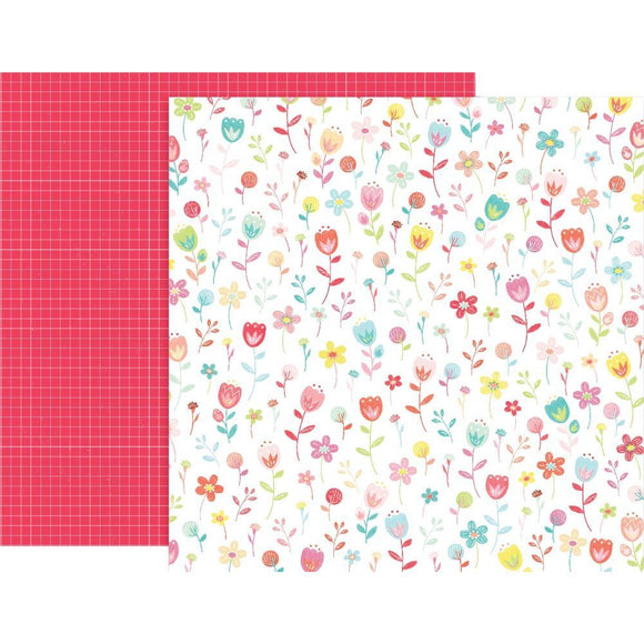Scrapbooking  Lucky Us Double-Sided Cardstock 12