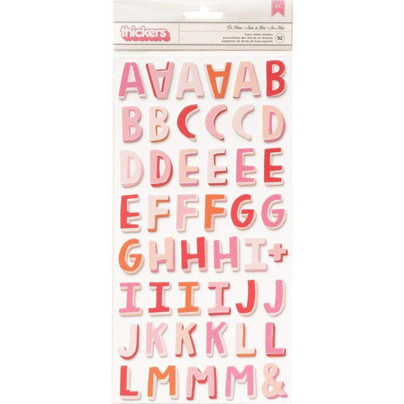 Scrapbooking  Lucky Us Thickers Stickers 5.5