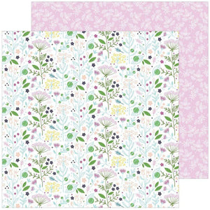 "Scrapbooking  Noteworthy Double-Sided Cardstock 12""X12"" - Enchanted Booms Paper 12x12"
