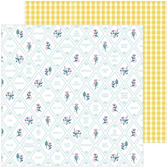 Scrapbooking  Noteworthy Double-Sided Cardstock 12