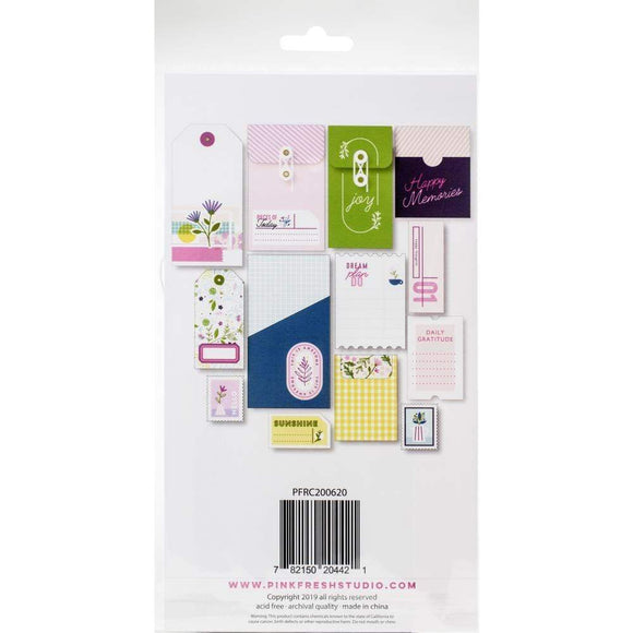 Scrapbooking  Noteworthy Stationery Pack Cardstock Tags, Envelopes, Pockets Paper 12x12