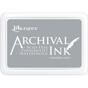 Scrapbooking  Ranger Archival Ink Pad - Shadow Grey Paper Collections 12x12