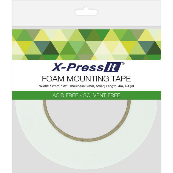 Scrapbooking  X-Press It Double-Sided Foam Tape 12mm adhesive