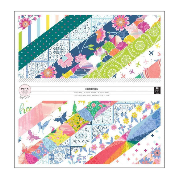 Scrapbooking  Paige Evans Horizon Single-Sided Paper Pad 12
