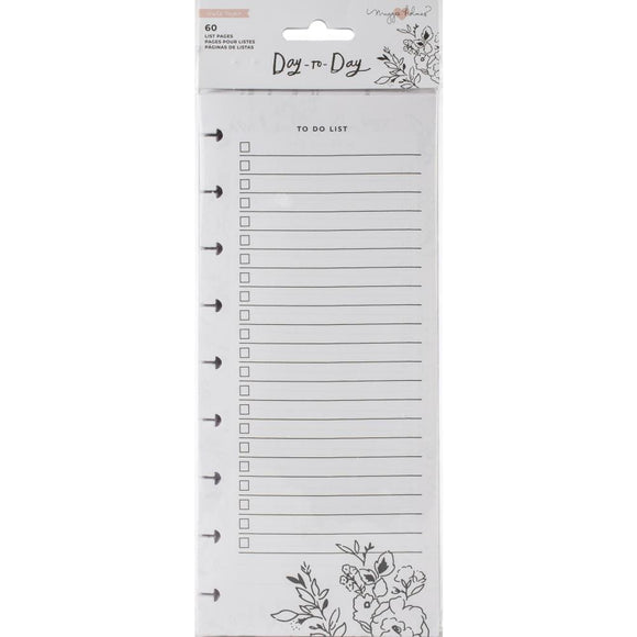 Scrapbooking  Maggie Holmes Day-To-Day Dbl-Sided Notepad 4.25