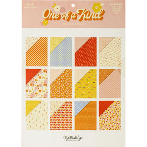 "Scrapbooking  One Of A Kind Double-Sided Paper Pad 6""X8"" 24/Pkg"