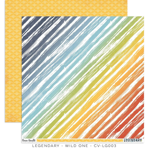 Scrapbooking  Legendary Double Sided Cardstock Paper 12