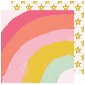 "Scrapbooking  Maggie Holmes Sweet Story Double-Sided Cardstock 12""X12"" - Parfait Paper 12x12"