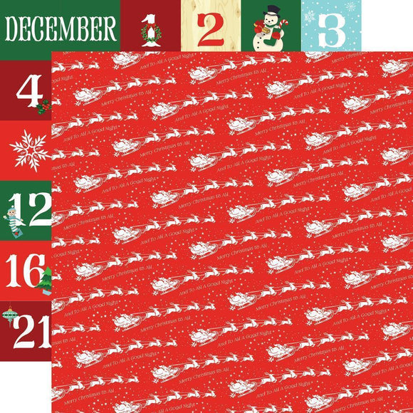 Scrapbooking  Santa's Workshop Double-Sided Cardstock 12
