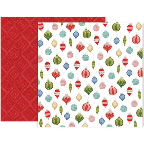 Scrapbooking  Together For Christmas Double-Sided Cardstock 12