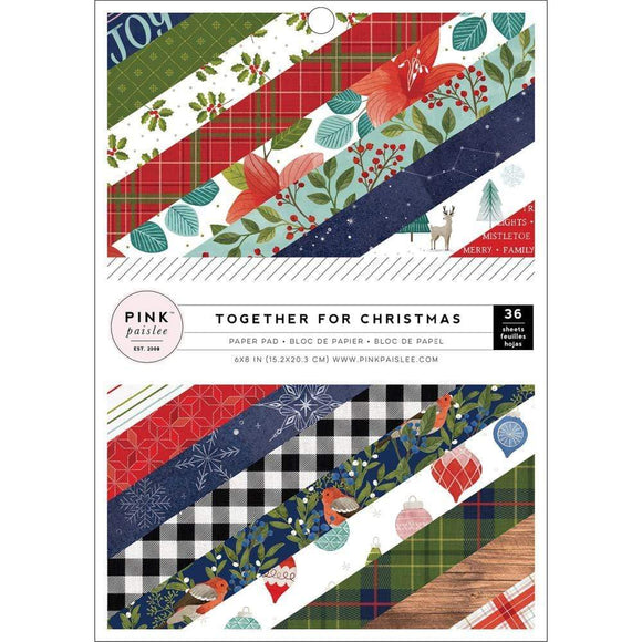 Scrapbooking  Together For Christmas,  Single-Sided Paper Pad 6