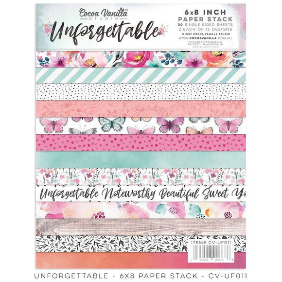 Scrapbooking  Unforgettable 6x8