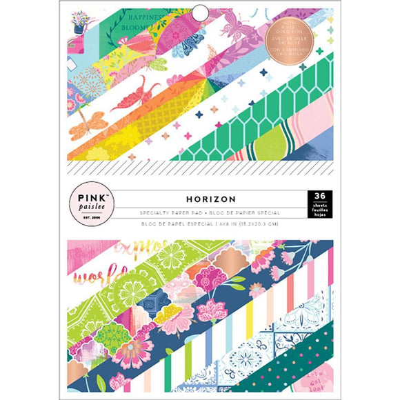 Scrapbooking  Paige Evans Horizon Single-Sided Paper Pad 6