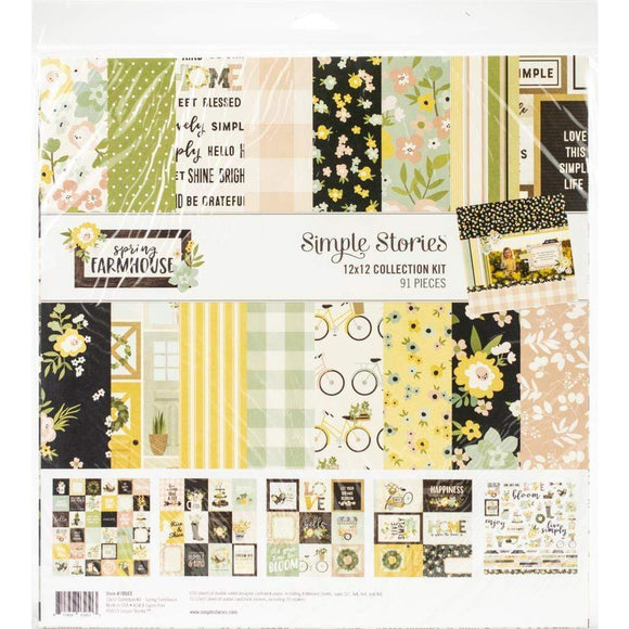 Scrapbooking  Simple Stories Collection Kit 12