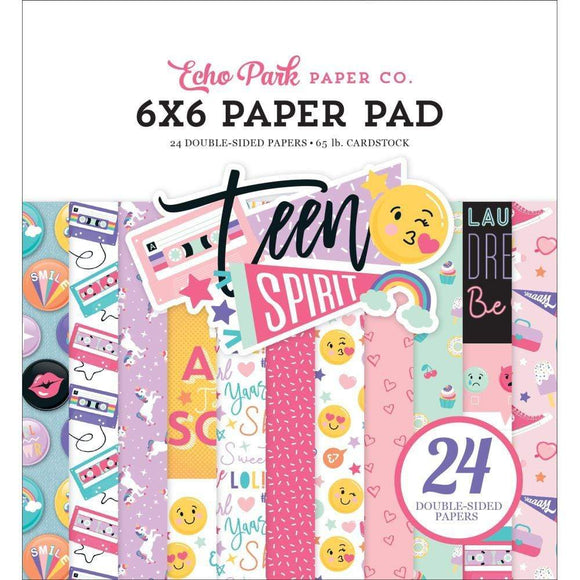 Scrapbooking  Teen Spirit Girl, Double-Sided Paper Pad 6