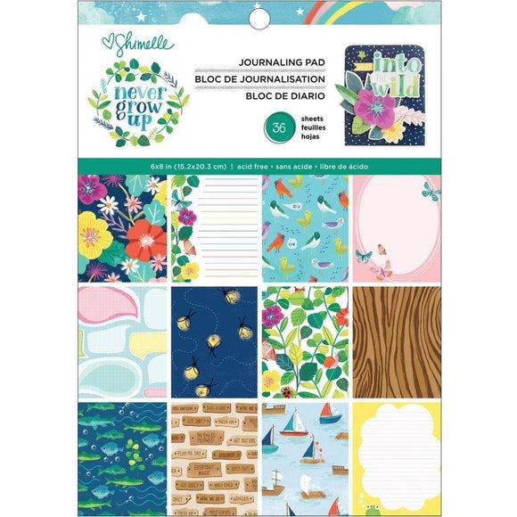 Scrapbooking  Shimelle Never Grow Up Single-Sided Paper Pad 6