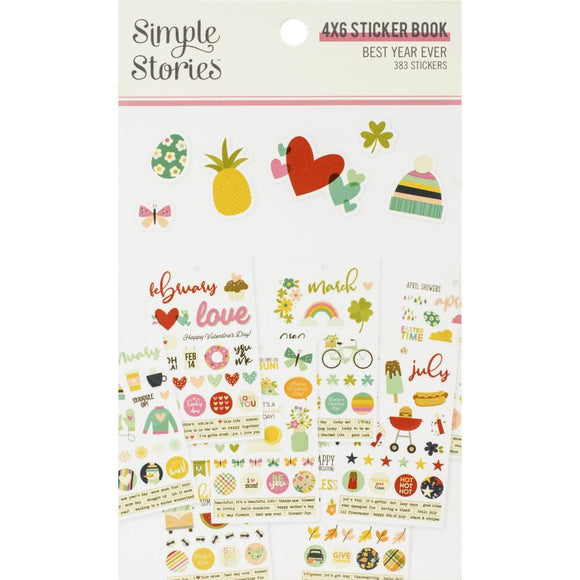 Scrapbooking  Best Year Ever Stickers 4