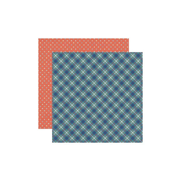 Scrapbooking  Bro & Co. Double-Sided Cardstock 12