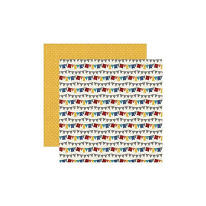 "Scrapbooking  Bro & Co. Double-Sided Cardstock 12""X12"" - You Rock Paper 12""x12"""