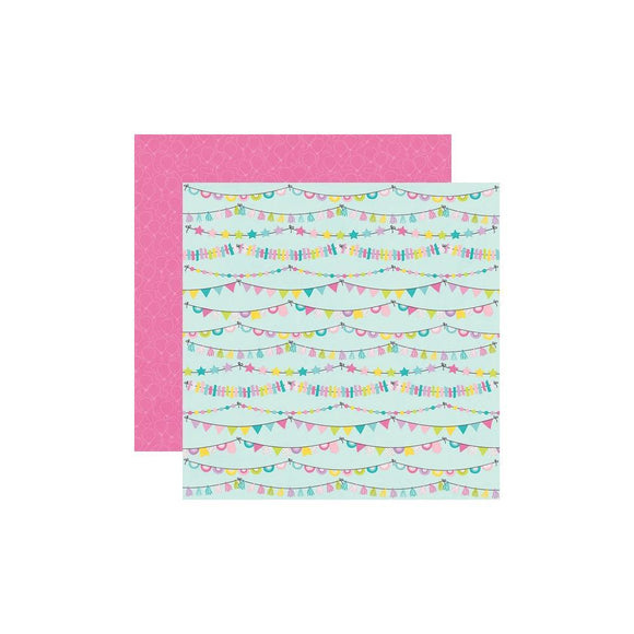 Scrapbooking  Magical Birthday Double-Sided Cardstock 12