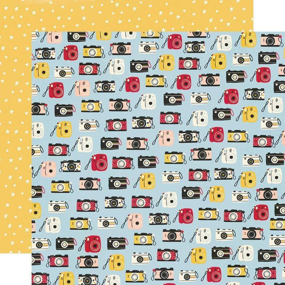 Scrapbooking  Say Cheese Main Street Double-Sided Cardstock 12
