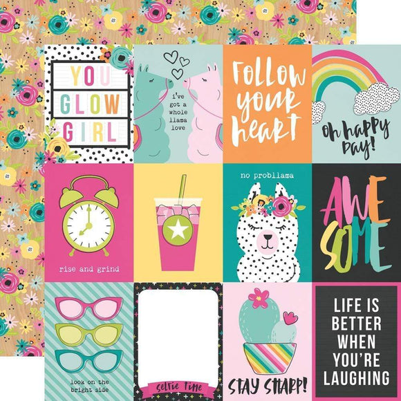 Scrapbooking  Oh Happy Day Double-Sided Cardstock 12